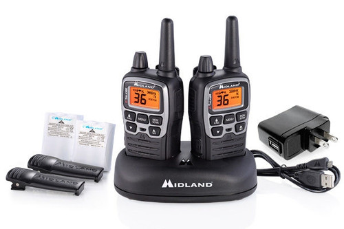 Midland X-Talker 36 Channel 38 Mile Extreme Dual Pack 2-Way Radio #T77VP5