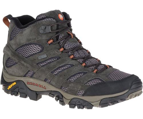 Merrell Men's MOAB 2 Mid-Rise Waterproof Hiking Shoes