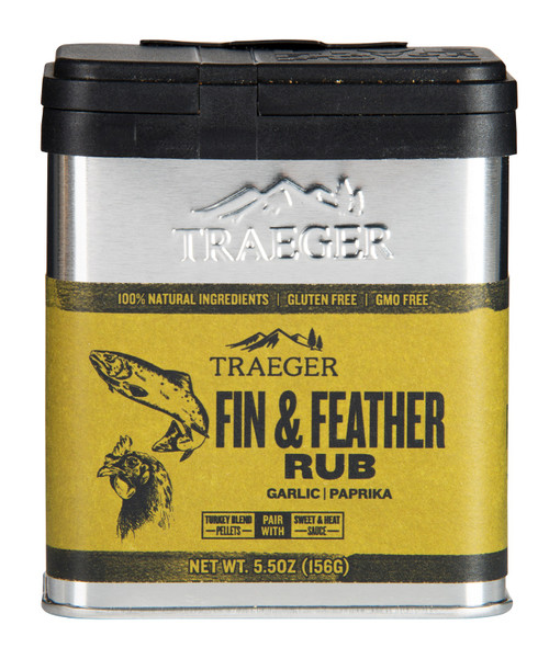 Traeger Fin & Feather Rub #SPC176