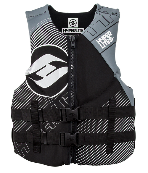 Hyperlite Men's Indy CGA Safety Vest GREY XL #86000126