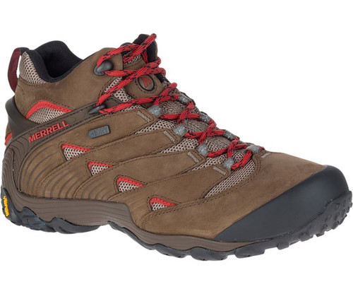 Merrell Men's Chameleon 7 Mid-Rise Waterproof Hiking Shoes
