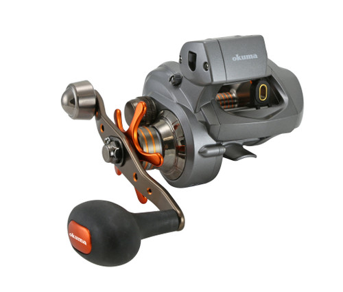 Okuma Cold Water 454 Series Low Profile Line Counter Reel RH #CW454D