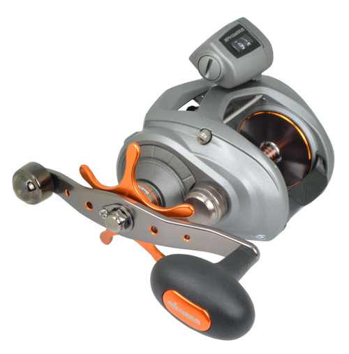 Okuma Cold Water 454 Series Low Profile Line Counter Reels