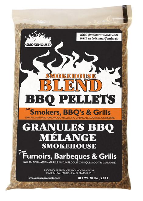 Smokehouse SMKHSE BLEND BBQ Pellets 20LB #9799-040-0000