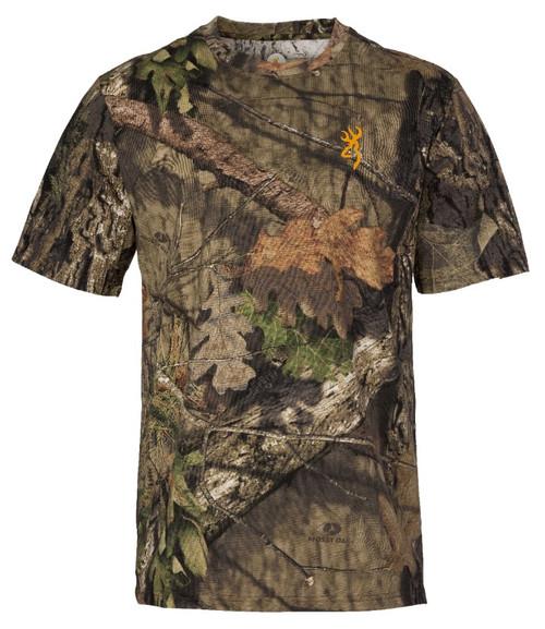 Browning Wasatch CB Short Sleeve T-Shirt MOBC XL #30178128-04