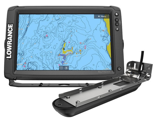 Lowrance Elite-12 Ti² Fishfinder/Chartplotter w/Active Imaging 3-in-1 & US/Can Nav+ #14659-001