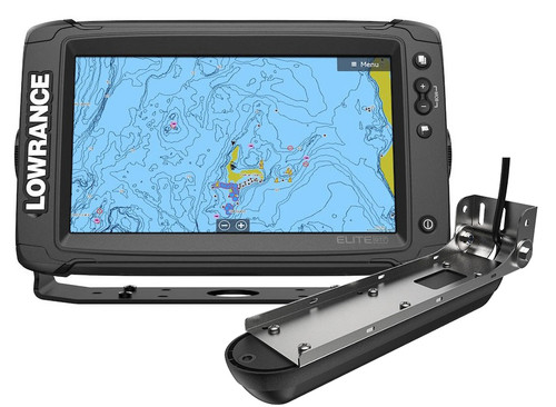Lowrance Elite-9 Ti² Fishfinder/Chartplotter w/Active Imaging 3-in-1 & US/Can Nav+ #14649-001