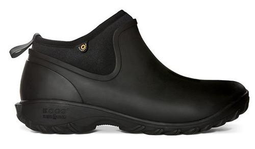 BOGS Women's Sauvie Chelsea Slip-On Waterproof Shoe  BLK 7 #72201-001-7