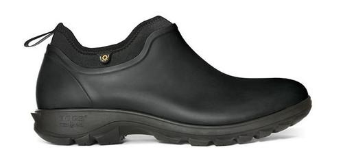 BOGS Men's Sauvie Slip-On Waterproof Shoe   BLK 12 #72207-001-12