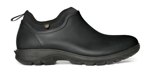 BOGS Men's Sauvie Slip-On Waterproof Shoe   BLK 13 #72207-001-13