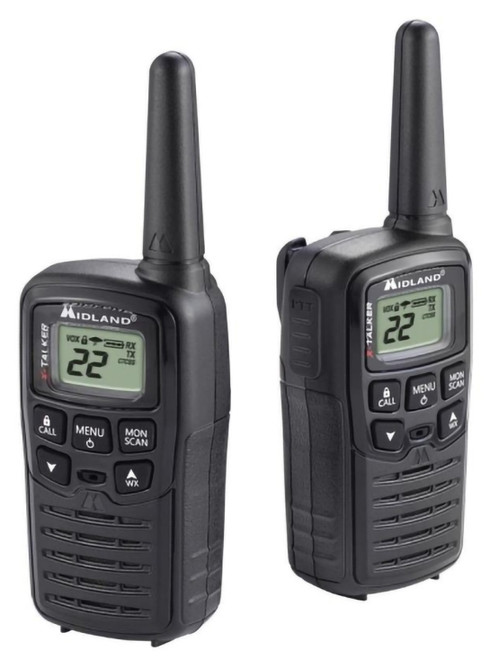 Midland X-Talker T10 22 Channel 20 Mile 2-Way Radio #T10