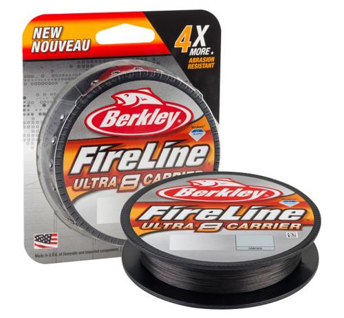 Berkley Fireline Ultra 8-Carrier Superline 125Y 4# SMK #BU8FLFS4-42