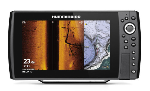 Humminbird Helix 10 CHIRP MEGA SI+ G3N Fishfinder/GPS Chartplotter #410890-1
