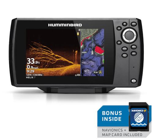 Humminbird Helix 7 CHIRP MEGA DI Fishfinder/GPS Chartplotter G3 w/Navionics + US/Canada #410940-1NAV