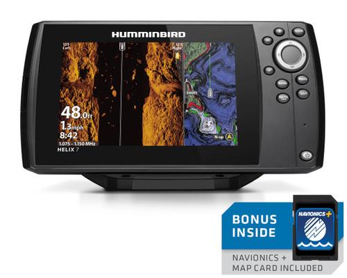 Humminbird Helix 7 CHIRP MEGA SI Fishfinder/GPS Chartplotter G3 w/Navionics + US/Canada #410950-1NAV