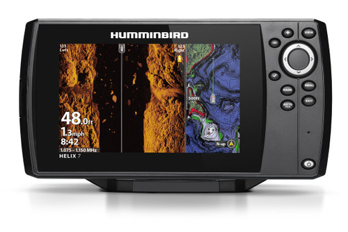 Humminbird Helix 7 CHIRP MEGA SI Fishfinder/GPS Chartplotter G3N+ #411080-1