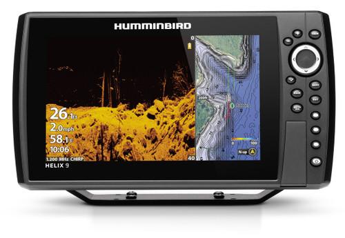 Humminbird Helix 9 CHIRP MEGA DI+ Fishfinder/GPS Chartplotter G3N #410850-1