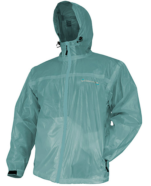 Compass 360 Women's Ultra-Pak Waterproof Breathable Rain Jacket SEAFOAM L #UP22201-59-L