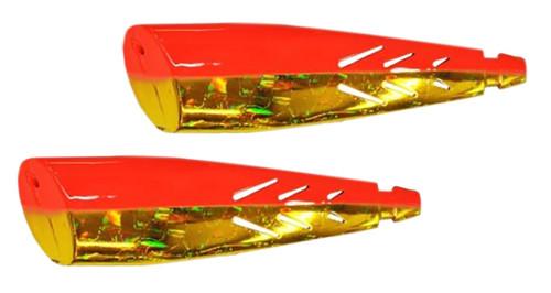 Brad's Super Bait Kokanee Cut Plugs FIREBALL 2PK #TPKCP-115