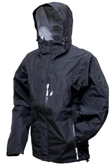 Frogg Toggs Women's Java Toadz 2.5 Jacket BLK L #JT62530-01LG