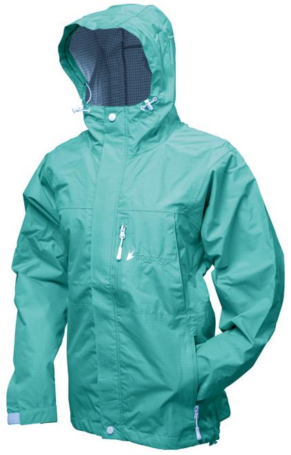 Frogg Toggs Women's Java Toadz 2.5 Jacket SEA FOAM L #JT62530-19LG