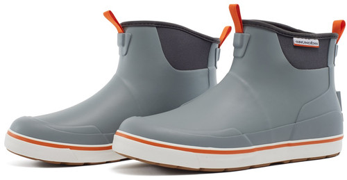 Grundens Deck-Boss Ankle Boot  GRY 8 #60008-6188-8