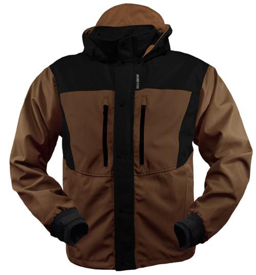 RIVERS WEST Kokanee Fishing Jacket TAN/BLK L #5750-TAN-L