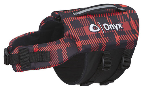 Onyx Neoprene Pet Vest  RED PLD M #157200-100-030
