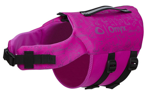 Onyx Neoprene Pet Vest  PURPLE M #157200-600-030