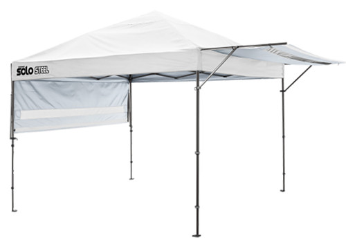 Quik Shade Solo Steel 10x17 Straight Leg Canopy Tents w/Awning