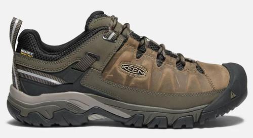 KEEN Men's Targhee III Waterproof Hiking Shoe BUN/BLA 12 #1017783-12