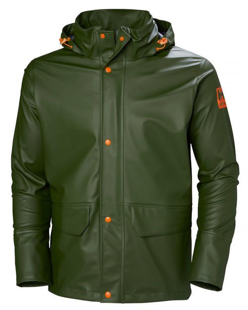 Helly Hansen Gale Rain Jacket  GRN M #70282-480-M