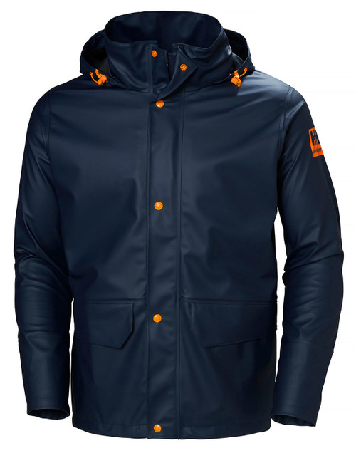 Helly Hansen Gale Rain Jacket  NVY M #70282-590-M