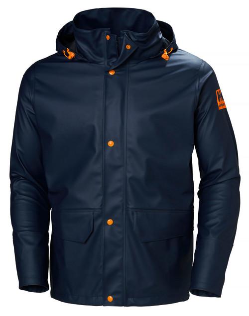 Helly Hansen Gale Rain Jacket  NVY XL #70282-590-XL