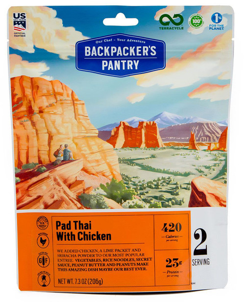 Backpacker's Pantry Pad Thai w/Chicken #102447