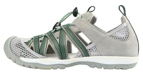 Northside Santa Rosa Women's Closed Toe Sandal  GRY/SAG 10 #218318W952-10