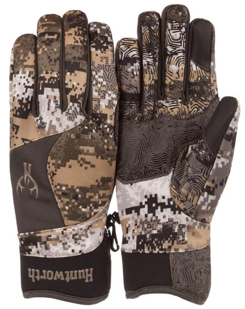 Huntworth Men's Stealth Disruption Lightweight Hunting Gloves  XL #1212-21DC-XL