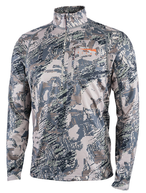 Sitka Core Men's Midweight Zip-T Long-Sleeve Shirt