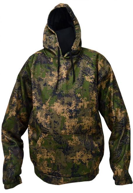 WFS Hooded Sweatshirt  PE CAMO L #CHP-418-L