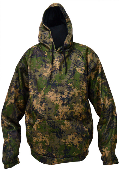 WFS Hooded Sweatshirt  PE CAMO XL #CHP-418-XL