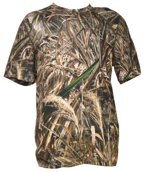 Terramar 2.0 Thermolator II Men's Short Sleeve Camo Stalker Crew  RTM5 XL #W8563-252-XL
