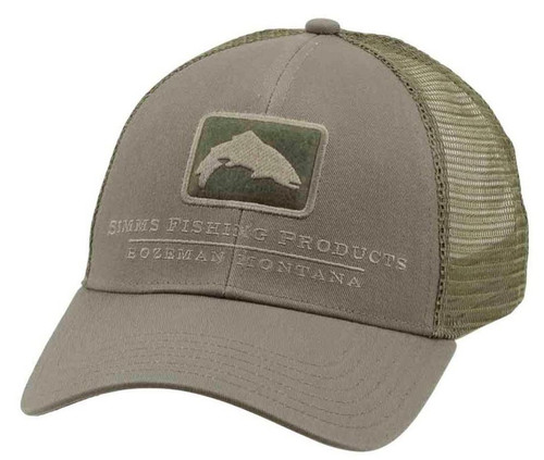 Simms Trout Icon Trucker Cap