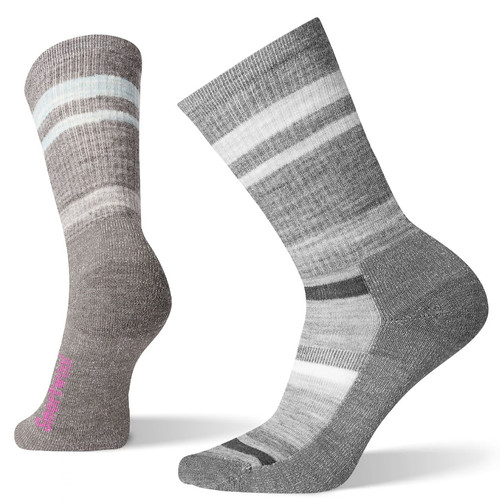 Smartwool Women's Striped Light Crew Hiking Socks