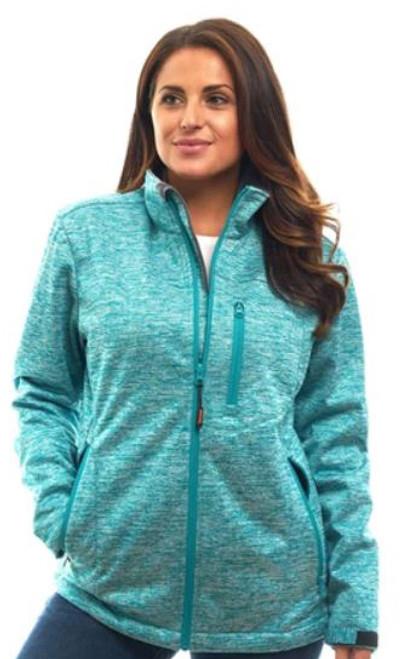 Trailcrest Women's Heather WP XRG Softshell Jacket  TEA S #2051-016-S