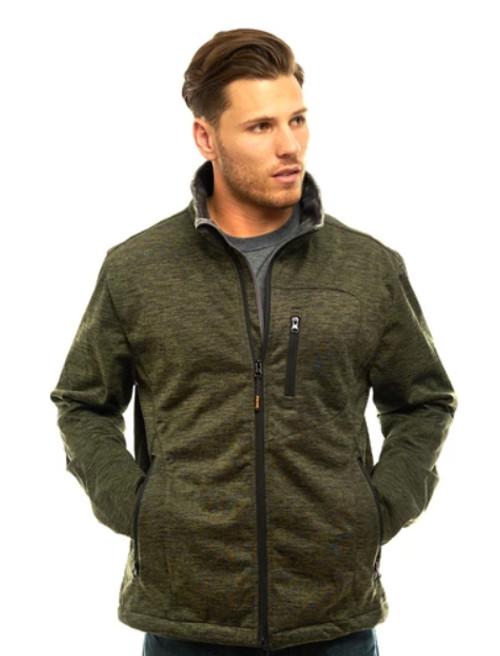 Trailcrest Men's Heather WP XRG Softshell Jacket  OLI XL #2051-023-XL