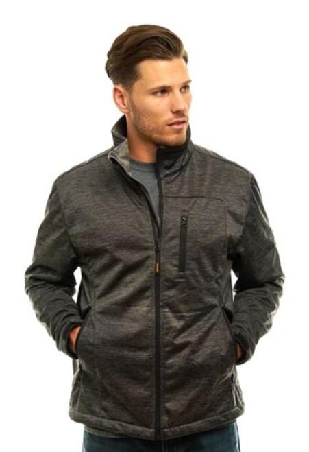 Trailcrest Men's Heather WP XRG Softshell Jacket  CHR XL #2051-018-XL