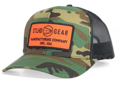 STLHD MFG CO Camo Snapback Trucker Hat #STLHD-0496