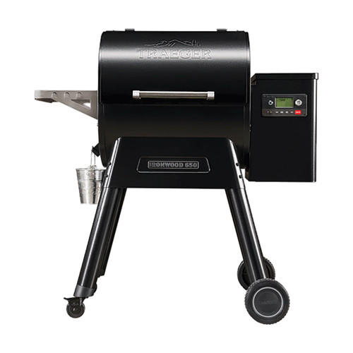 Traeger Ironwood 650 Pellet Grill w/WiFire Technology (IN STORE PURCHASE ONLY) #TFB65BLE