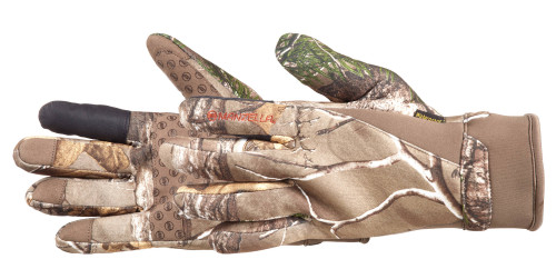 Manzella Men's Coyote Touchtip Hunting Gloves  RX1 M #H141M-M