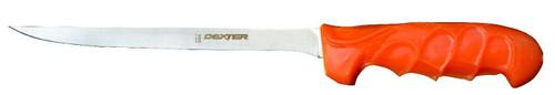 """Dexter 8"""" UR-Cut Flexible Moldable Handle Fillet Knife #25423"""